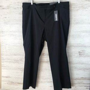 NWT LANE BRYANT Classic Stretch Trouser Right Fit
